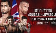 Где смотреть онлайн Bellator 223: Гегард Мусаси – Рафаэль Ловато