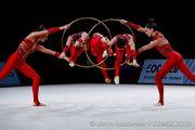Европейские игры. Украинки добыли серебро в художественной гимнастике