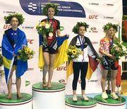 Украина завоевала 9 медалей на чемпионате Европы по ММА