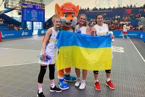 Европейские игры. Женская сборная Украины 3х3 победила Испанию
