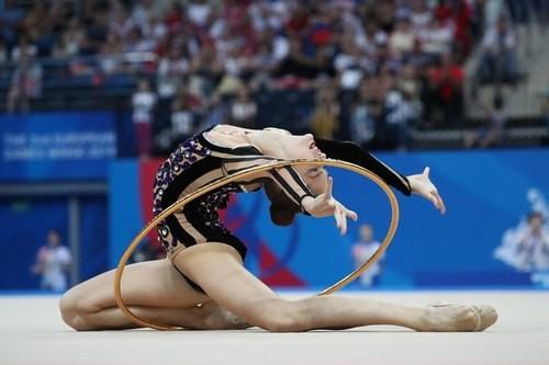 Европейские игры. Никольченко завоевала бронзу в упражнениях с обручем