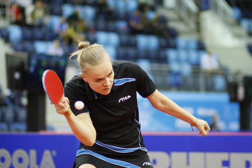 В настольном теннисе Гапонова вышла в 1/8 финала Европейских игр