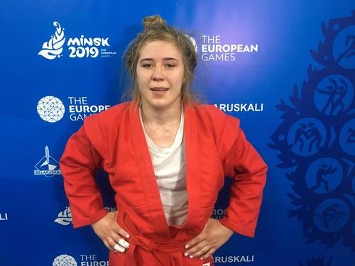 Москалева завоевала серебро на Европейских играх