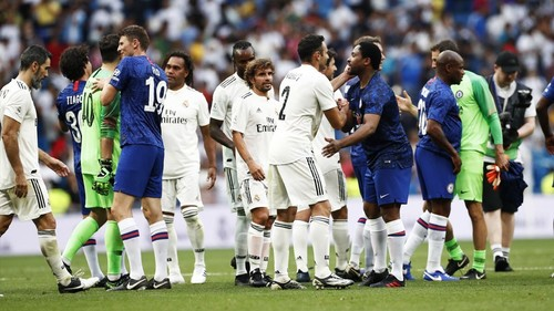 Матч легенд. Реал – Челси – 5:4. Видео голов и обзор матча