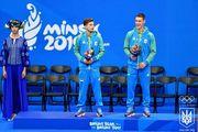 Україна опустилася на 4-е місце в медальному заліку Європейських ігор