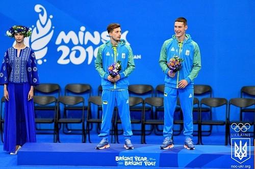 Украина опустилась на 4-е место в медальном зачете Европейских игр