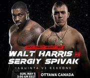 Где смотреть онлайн UFC on ESPN+ 9: Уолт Харрис – Сергей Спивак