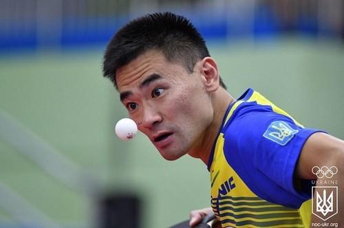 Настольный теннис. Украинец Коу Лей сразится за бронзу Европейских игр