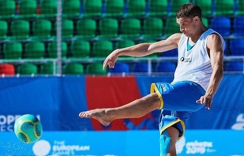 Пляжный футбол. Украина обыграла Испанию на Европейских играх