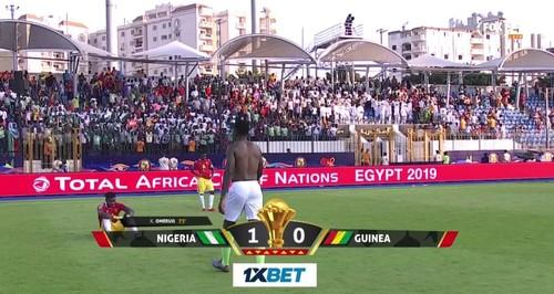 Кубок африканских наций. Нигерия минимально обыграла Гвинею