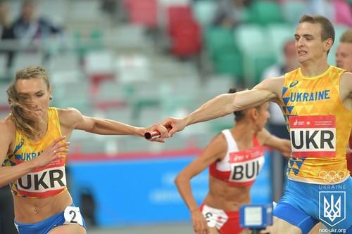 Легкоатлетическая сборная Украины вышла в финал Европейских игр