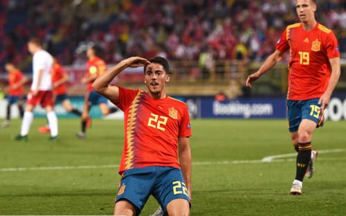 Испания разгромила Францию на пути к финалу Евро U-21