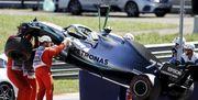 ВИДЕО. Яркие аварии Ферстаппена и Боттаса в Австрии
