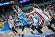 Украинки уступили Латвии в матче женского Евробаскета