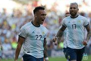 Аргентина обыграла Венесуэлу и вышла в полуфинал Кубка Америки