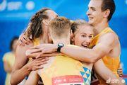ВІДЕО ДНЯ. Нагородження українських легкоатлетів в Мінську