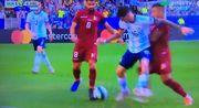 Голубь сорвал атаку сборной Аргентины