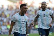 ВИДЕО. Гениальное касание пяткой вывело Аргентину в полуфинал