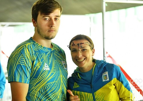 Пулевая стрельба. Украинский дуэт завоевал бронзу Европейских игр