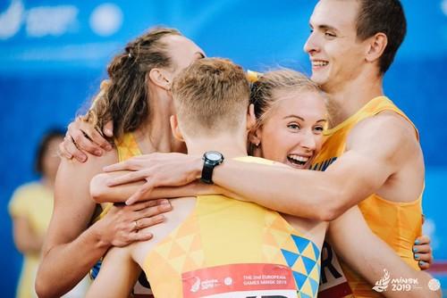 ВИДЕО ДНЯ. Награждение украинских легкоатлетов в Минске