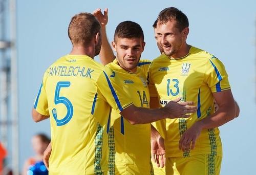 Пляжный футбол. Украина проиграла Швейцарии в матче за бронзу ЕИ-2019