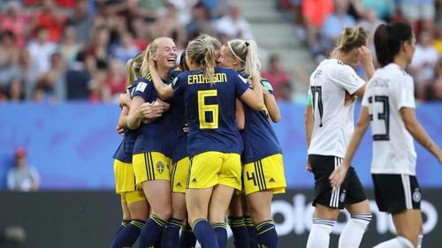Женский ЧМ. Швеция прошла Германию и вышла в полуфинал