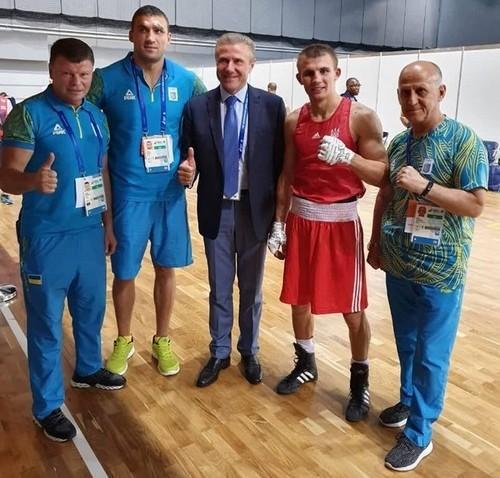 Европейские игры. Украинский боксер Хижняк завоевал золотую медаль