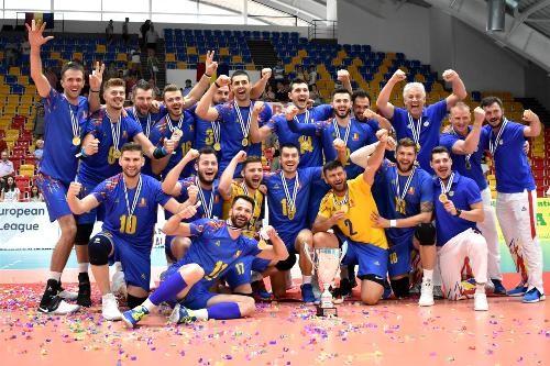 Серебряную волейбольную Евролигу выиграли две сборные Румынии