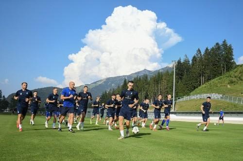 Динамо провело перше тренування на зборах в Австрії