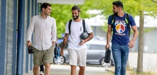Касільяс після серцевого нападу повернувся до тренувань Порту