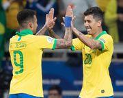 ФОТО. Раздевалка сборной Бразилии после победы над Аргентиной