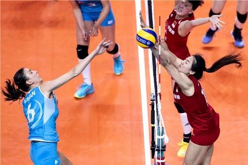 Начались матчи Финала шести женской волейбольной Лиги Наций