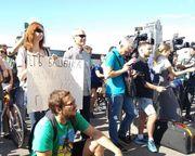 Состоялась акция протеста против президента ФВУ Башенко