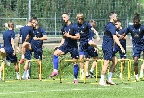 Динамо в контрольном матче сыграло вничью с Ботошани