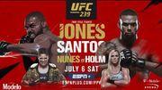 Где смотреть онлайн UFC 239: Джон Джонс – Тиаго Сантос