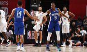 Матчи летней лиги НБА прервали из-за землетрясения