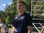 Соболь забив у своєму першому матчі за Брюгге
