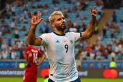 ВИДЕО. Аргентина – Чили. Как Агуэро открыл счет в матче