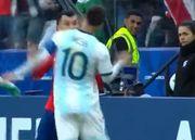 Месси удалили второй раз в карьере и снова в матче за сборную