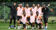 ВИДЕО. Футболисты Шахтера сыграли в настольный теннис на 50 отжиманий