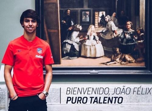 Жоау ФЕЛИШ: «Намерен провести хороший сезон и стать звездой Атлетико»