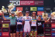 Яна Беломоина завоевала бронзу на этапе Кубка мира по маунтенбайку