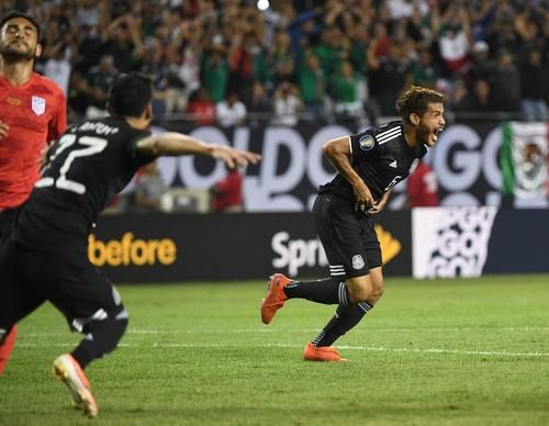 Мексика обыграла США в финале Золотого кубка КОНКАКАФ