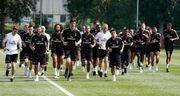 ВИДЕО. Лунин провел первую тренировку с Реалом на сборе в Канаде