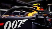ФОТО. Ред Булл прикрасив болід значком 007 в честь Джеймса Бонда