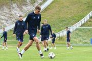Динамо в Австрии: новички прошли обряд посвящения