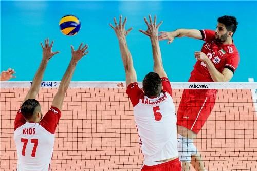 Определились три полуфиналиста мужской волейбольной Лиги Наций