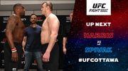 Украинский боец Спивак нокаутом проиграл свой первый бой в UFC