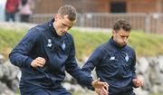 Игроки Динамо провели последнюю тренировку на сборе в Австрии
