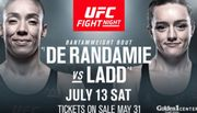 Где смотреть онлайн UFC Fight Night 155: де Рандами – Аспен Лэдд